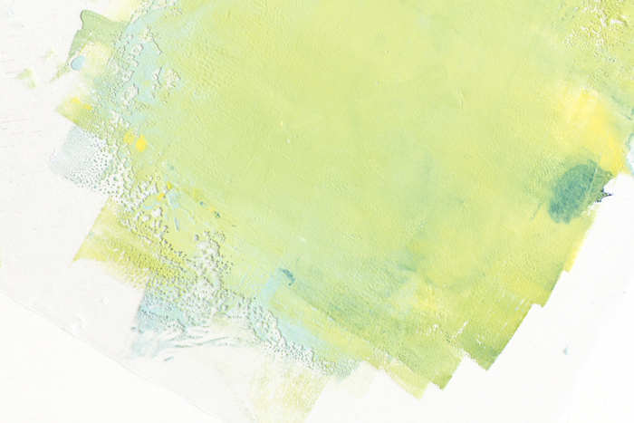 Block-printing-paint lino print