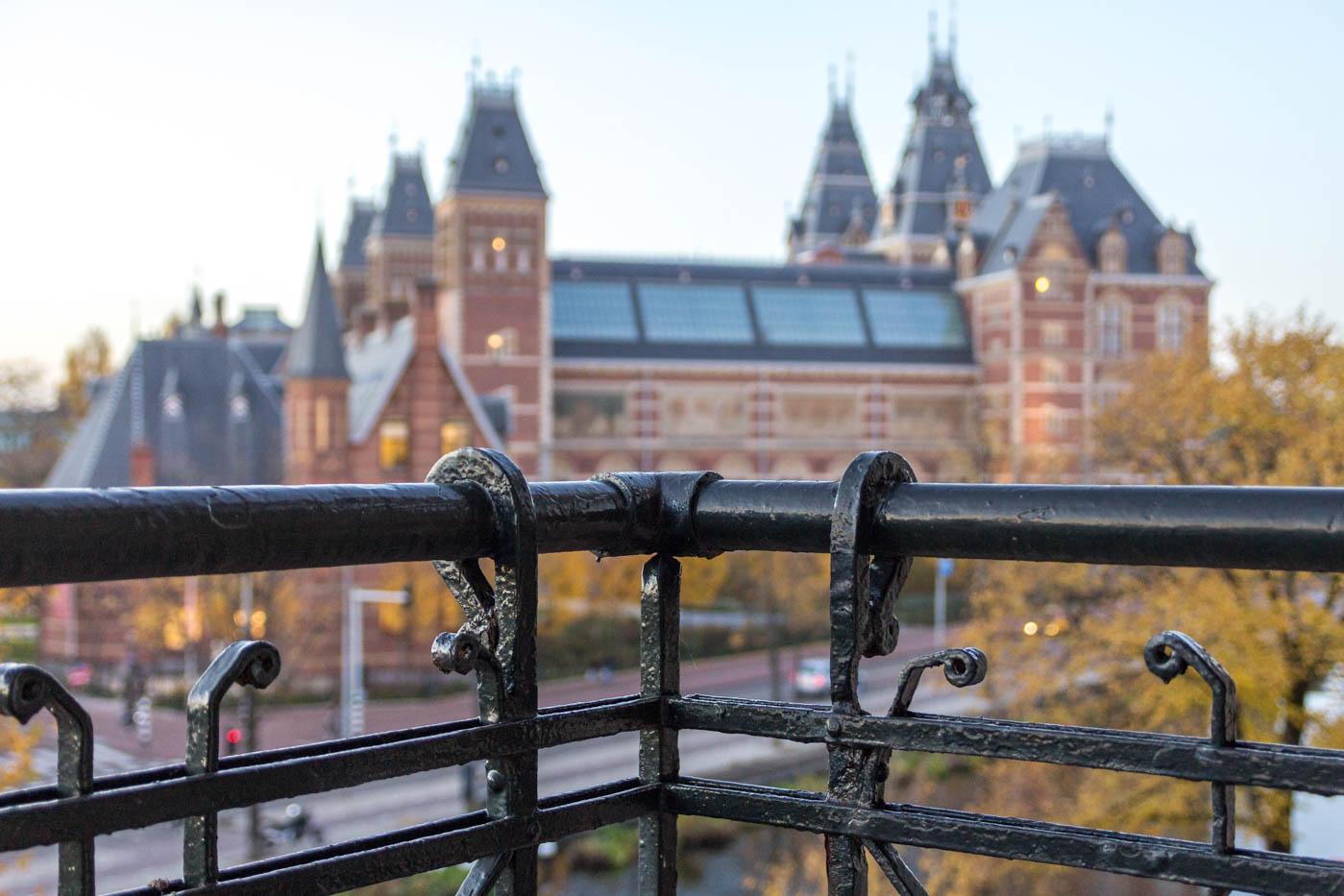 Herfst geboortekaartje Amsterdam Nederland