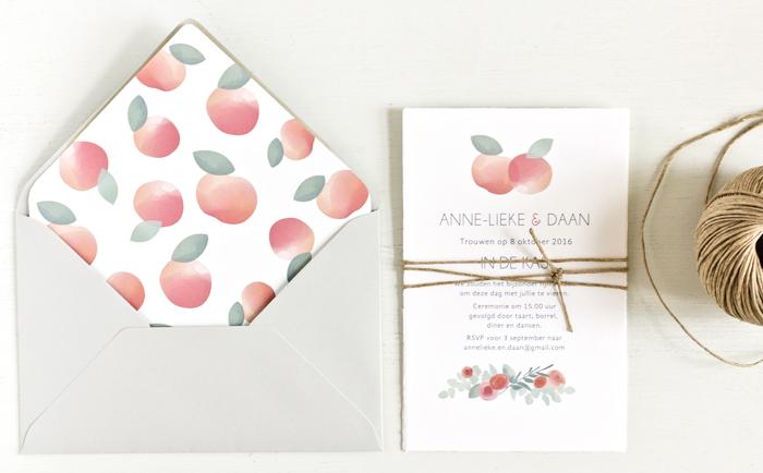 orchard wedding invitations